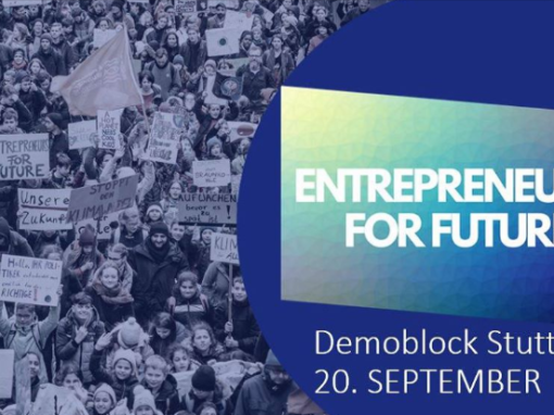 Entrepreneurs For Future Demoblock Stuttgart