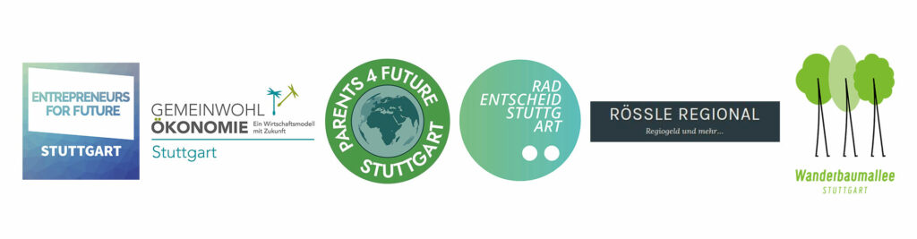Logos der Stuttgarter Initiativen für Veränderung