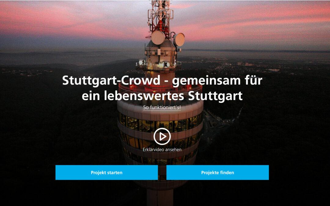 """""""Stuttgart-Crowd"""" – Crowdfunding für nachhaltige Projekte der Stadtwerke Stuttgart"""