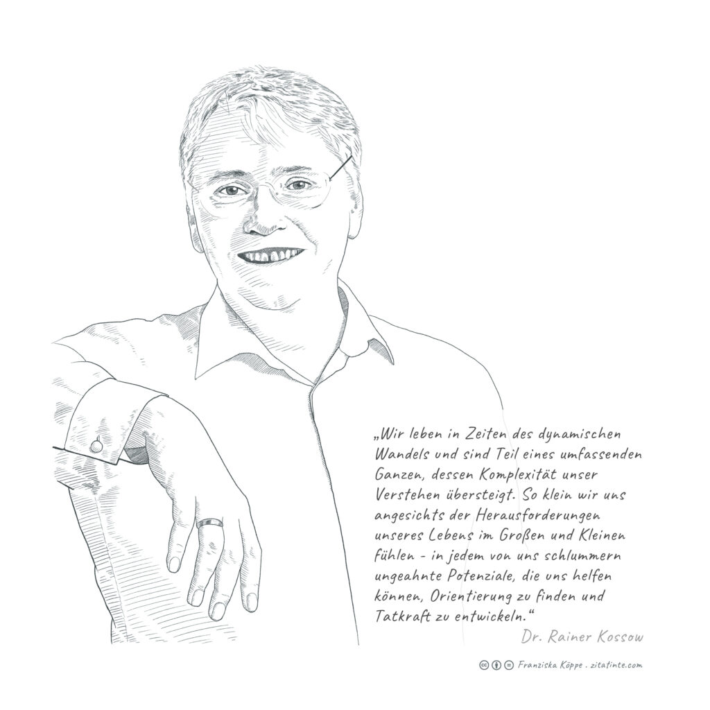 zitatinte Rainer Kossow